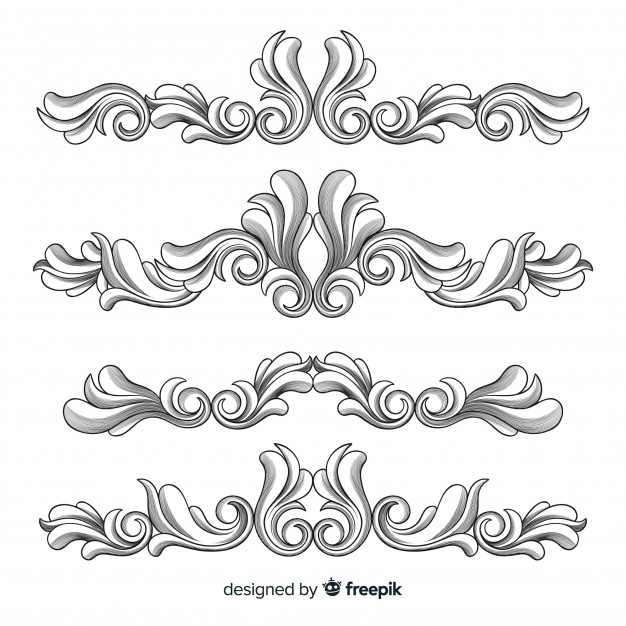 626x626 Floral Border Vectors, Photos And Psd Files Free Download