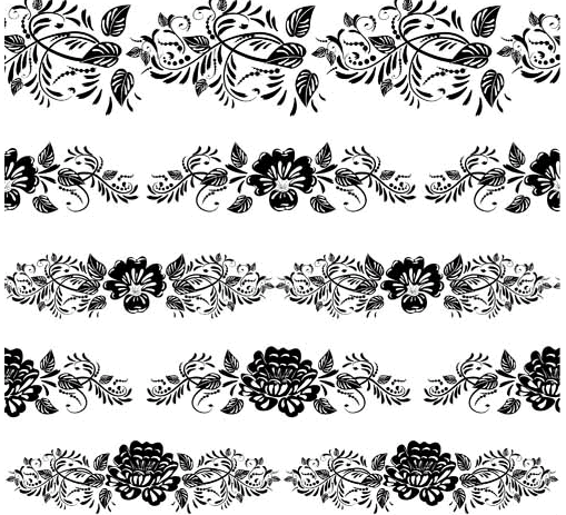 509x463 Floral Borders Free Vector Ai Format Free Vector Download
