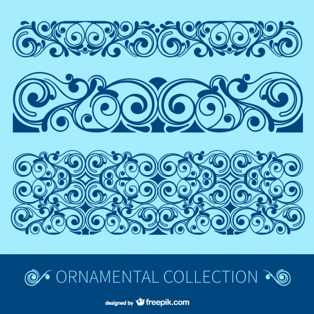 626x626 Antique Floral Borders Vector Free Download
