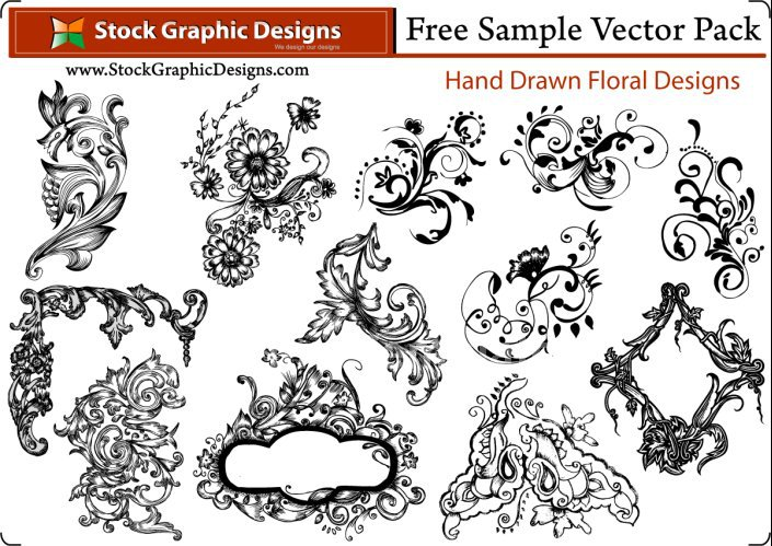 705x499 Free Sample Pack Download Vector Ps Brushes T Shirt Designs