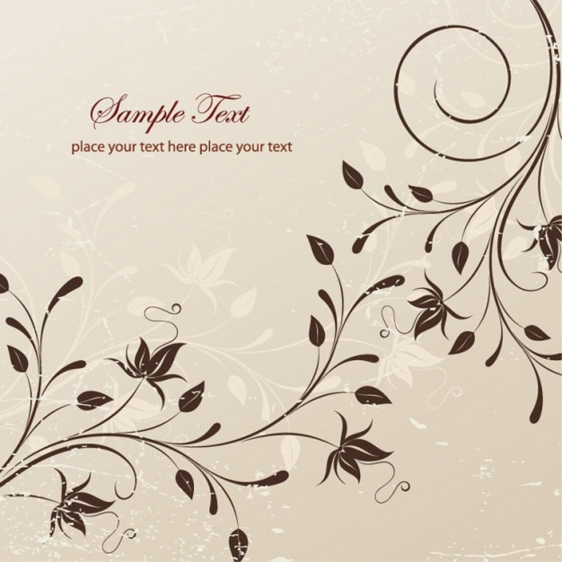 626x626 Free Floral Vector Illustration Vector Free Download