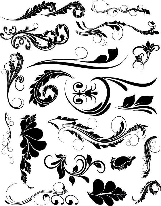 560x715 Swirl Free Illustrator Vector Graphic Design