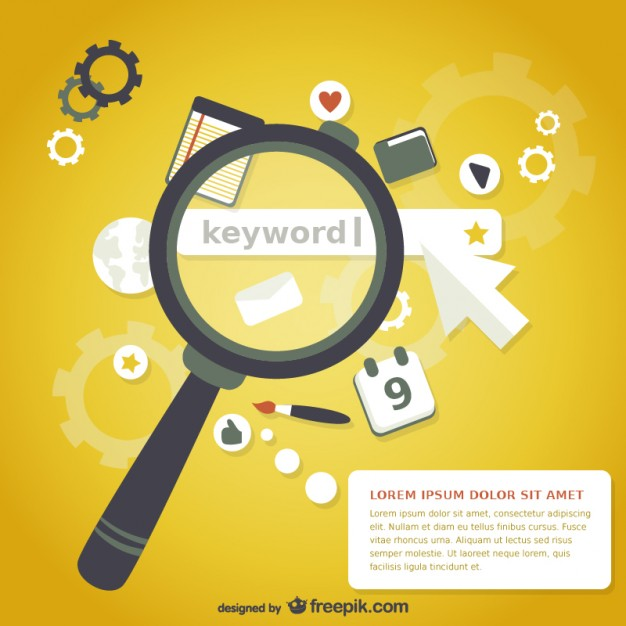 626x626 Magnifying Glass Keyword Search Vector Free Download
