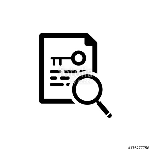 500x500 Keyword Research Icon Stock Image And Royalty Free Vector Files