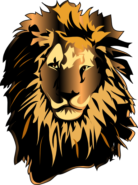 Free Lion Head Vector