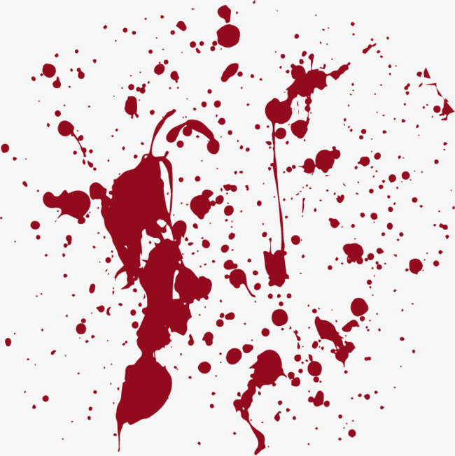 Blood splatter svg. Free paint vector at