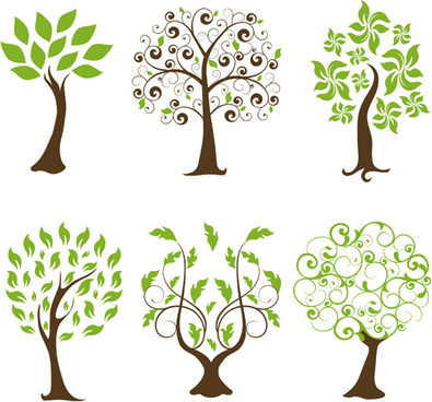 395x368 Free Tree Vectors