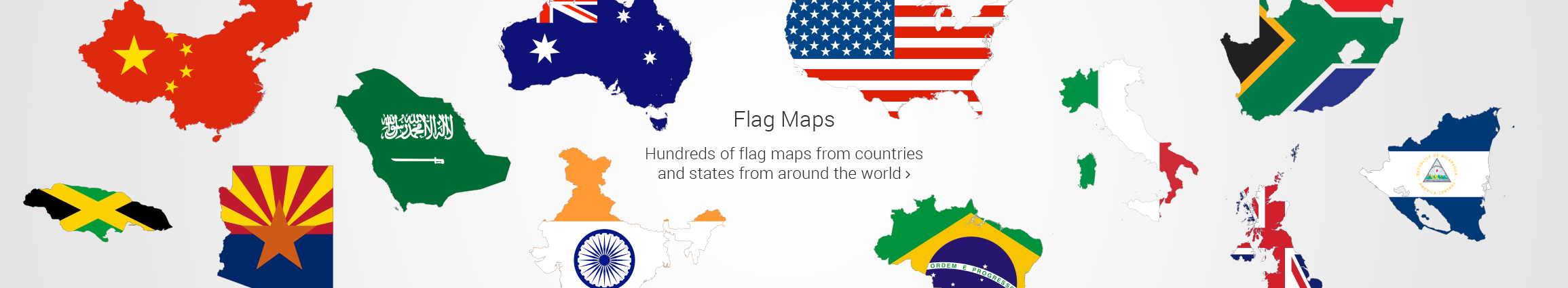 2310x425 Free Vector Maps Royalty Free Vector Maps