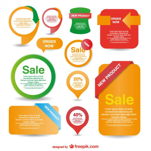 626x626 Sales Badges And Labels Vector Free Download