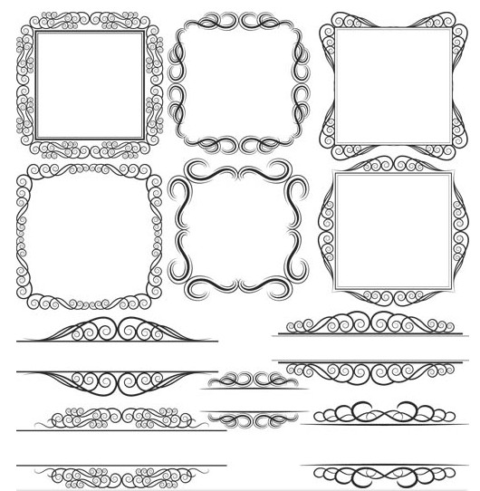 530x542 Frames Free Vector 8 Ai Format Free Vector Download
