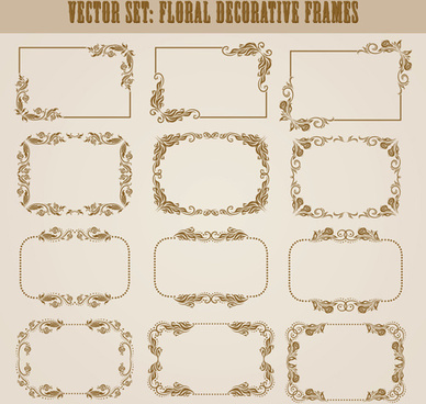 388x368 Decorative Frame Vector Free Vector Download (26,059 Free Vector