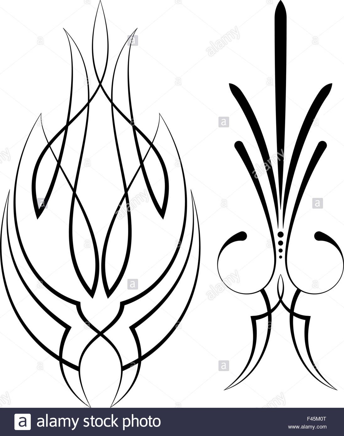 1096x1390 Free Vector Graphics Pinstripe Art Along With Vehicle Graphics
