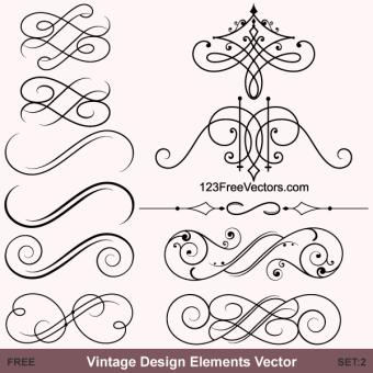 340x340 Decorative Scroll Vectors Download Free Vector Art