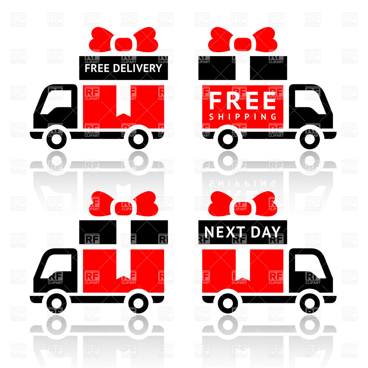 1200x1200 Free Delivery Icon