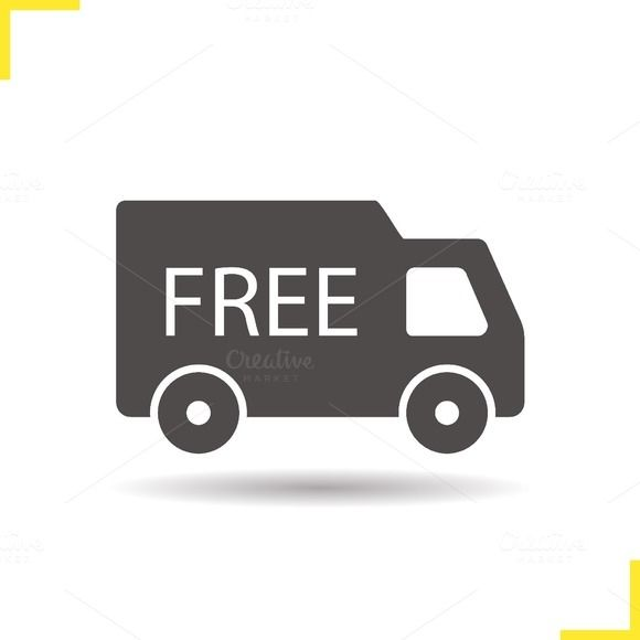 580x580 Free Delivery Icon. Vector Icons, Delivery And Drop