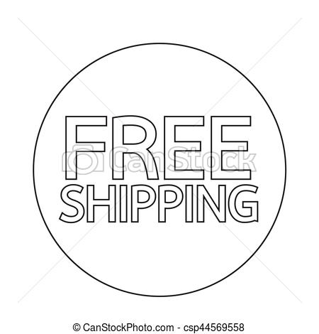 450x470 Free Shipping Icon Clipart Vector