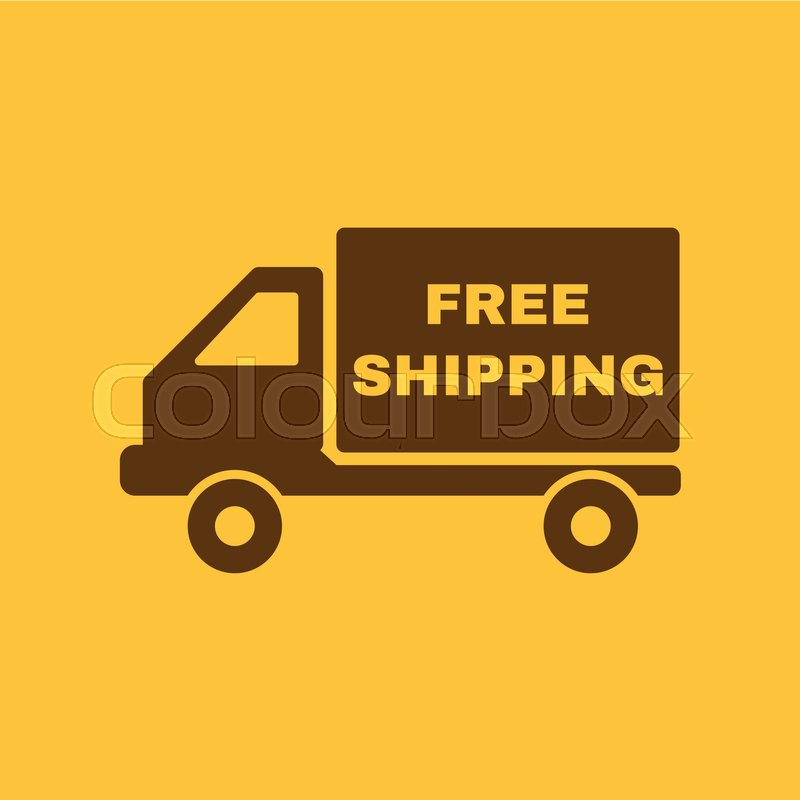800x800 The Free Shipping Icon. Delivery And Transportation, Transit