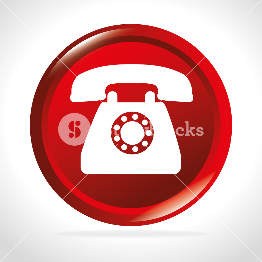 1000x1000 Telephone Free Shipping Delivery Icon Vector Illustration Royalty