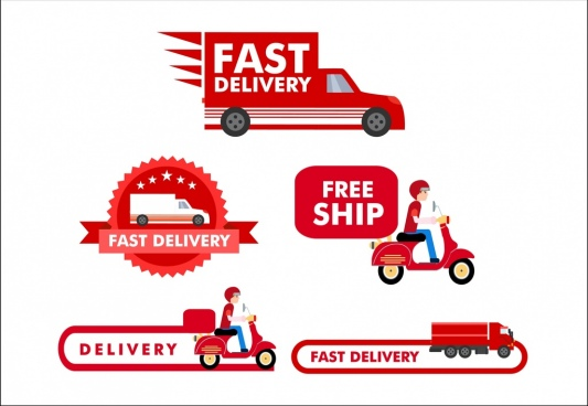 533x368 Delivery Vector Free Free Vector Download (180 Free Vector) For
