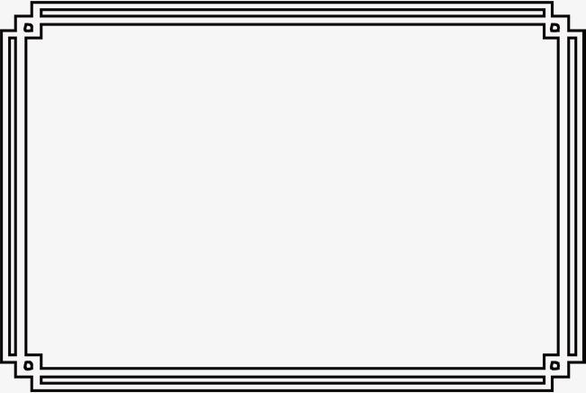 650x436 Simple Pattern Black Frame, Pattern Vector, Black Vector, Frame
