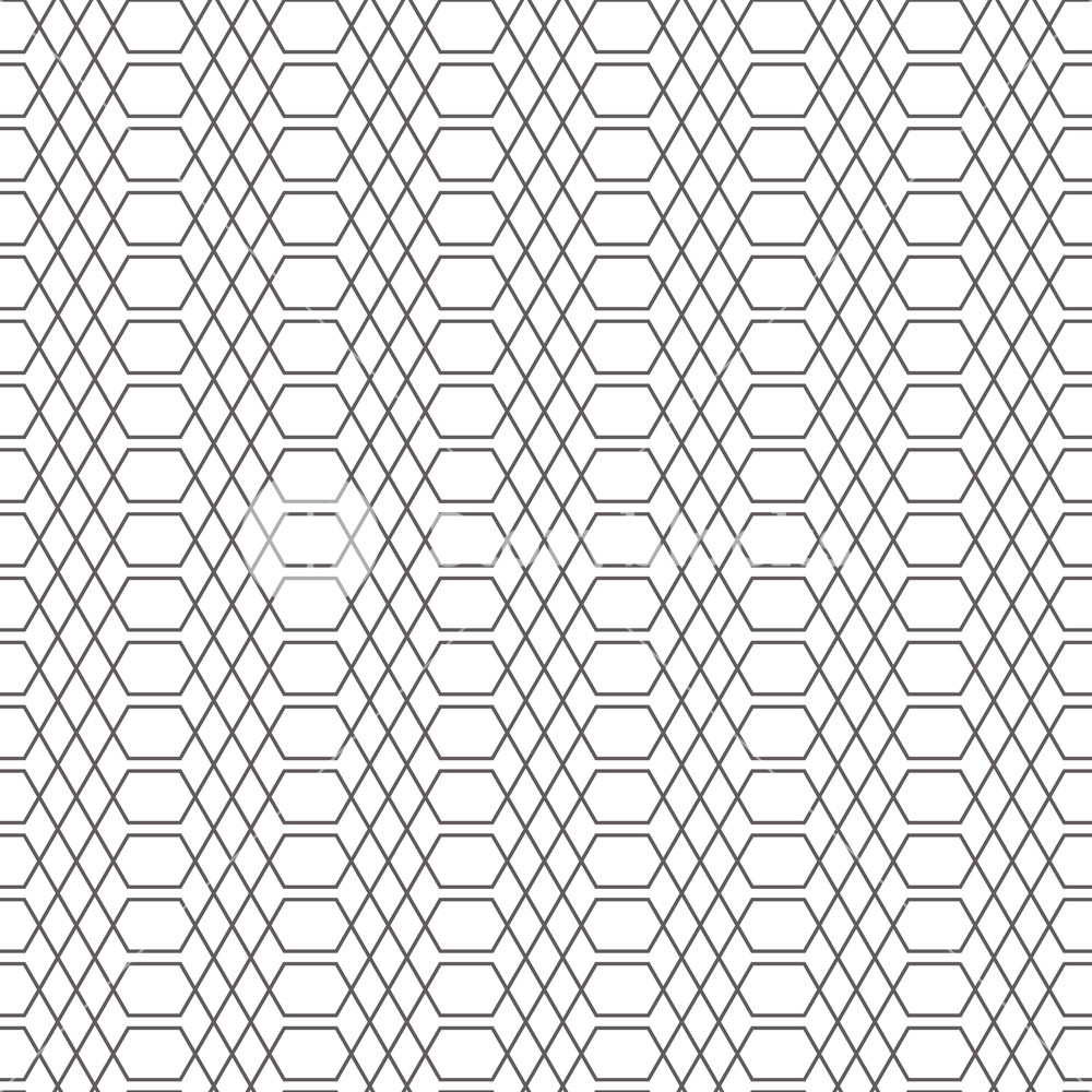1000x1000 Lattice Graphic Seamless Vector Pattern. Simple Geometric Repeat
