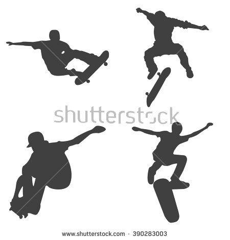 Free Skateboard Vector Art