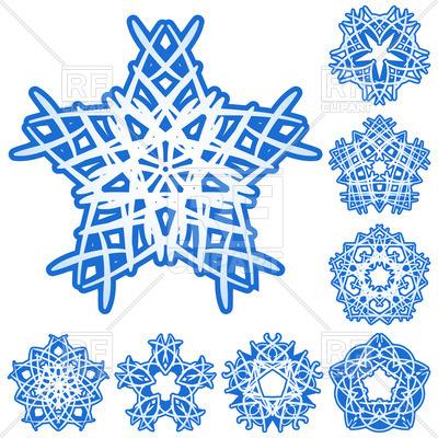 Free Snowflake Vector Art