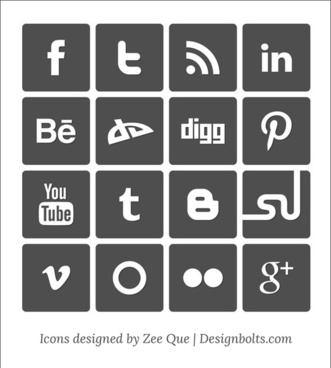 331x368 Free Social Media Icons Vector Free Vector Download (23,913 Free