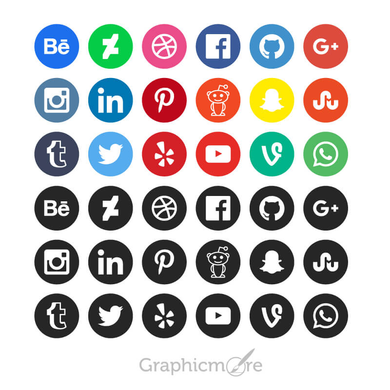 800x800 15 Best Social Media Icons Vectors Amp Psd Free Download