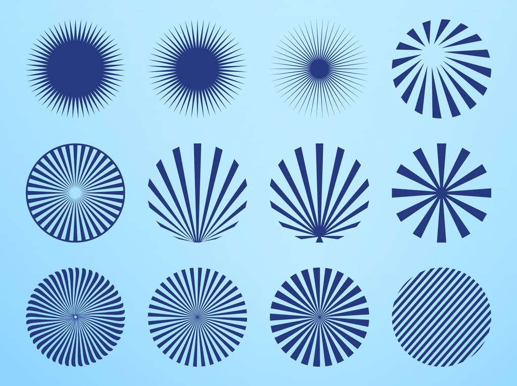 1024x765 Radial Starburst Patterns Vector Art Amp Graphics