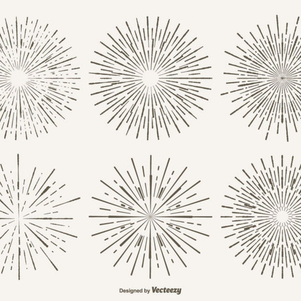 1170x1170 Starburst Patterns Pack Vector Art Graphics Freevector Com Free