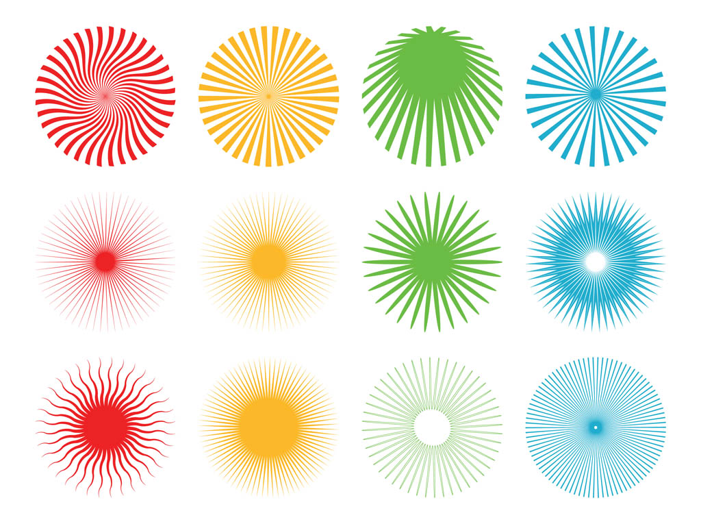 1024x765 Starburst Patterns Pack Vector Art Amp Graphics