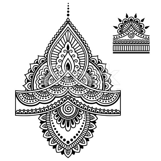 The Best Free Henna Vector Images Download From 50 Free Vectors Of