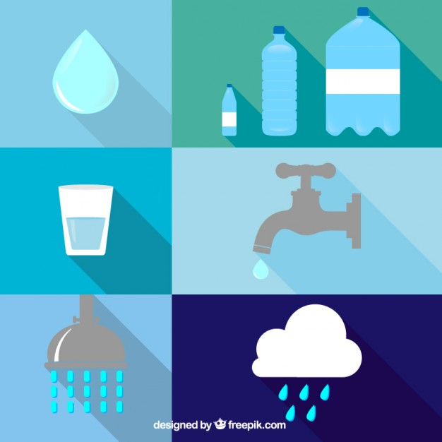 626x626 Water Icons Vector Free Download