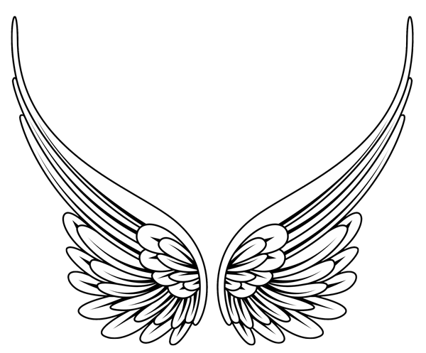 Free Vector Angel Wings