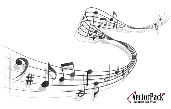 600x385 Free Vector Music Notes