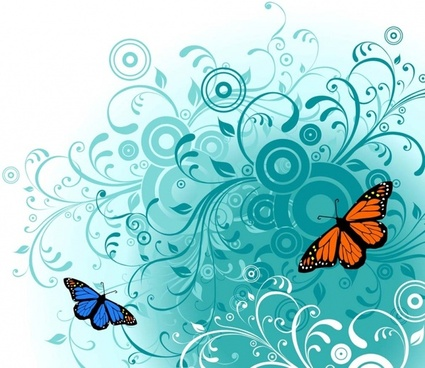 425x368 Butterfly Free Vector Download (2,033 Free Vector) For Commercial