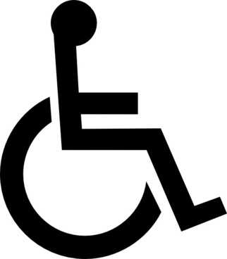 322x368 Handicap Logo Vector