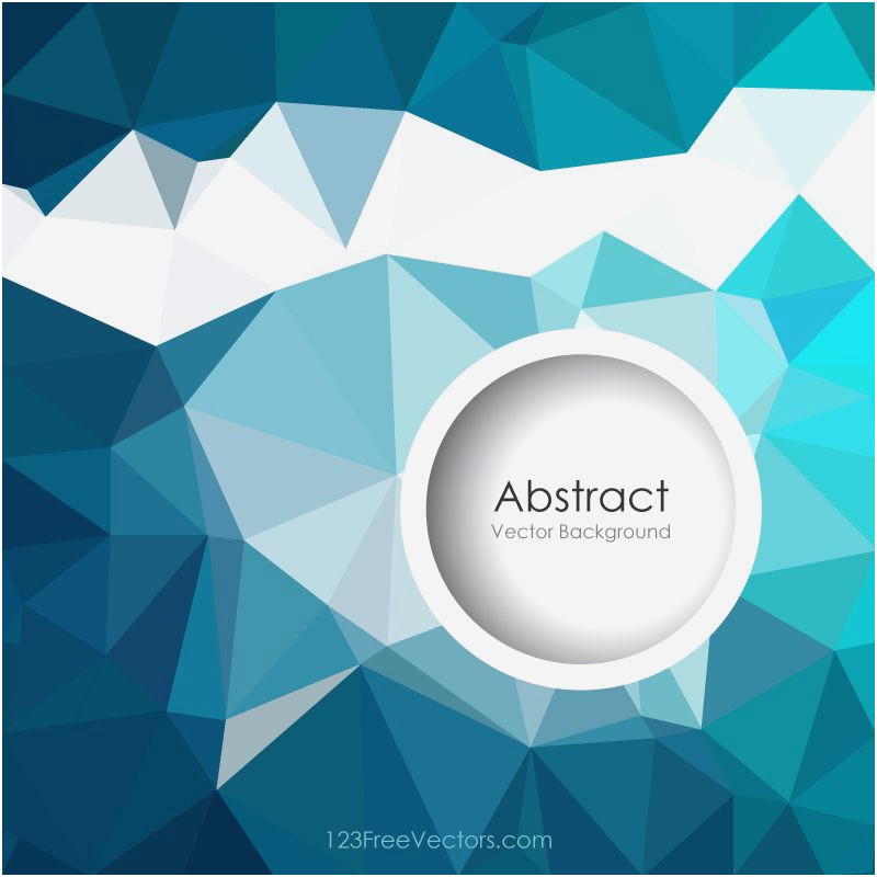 800x800 New Dark Turquoise Dark Turquoise Polygonal Background Vector Free