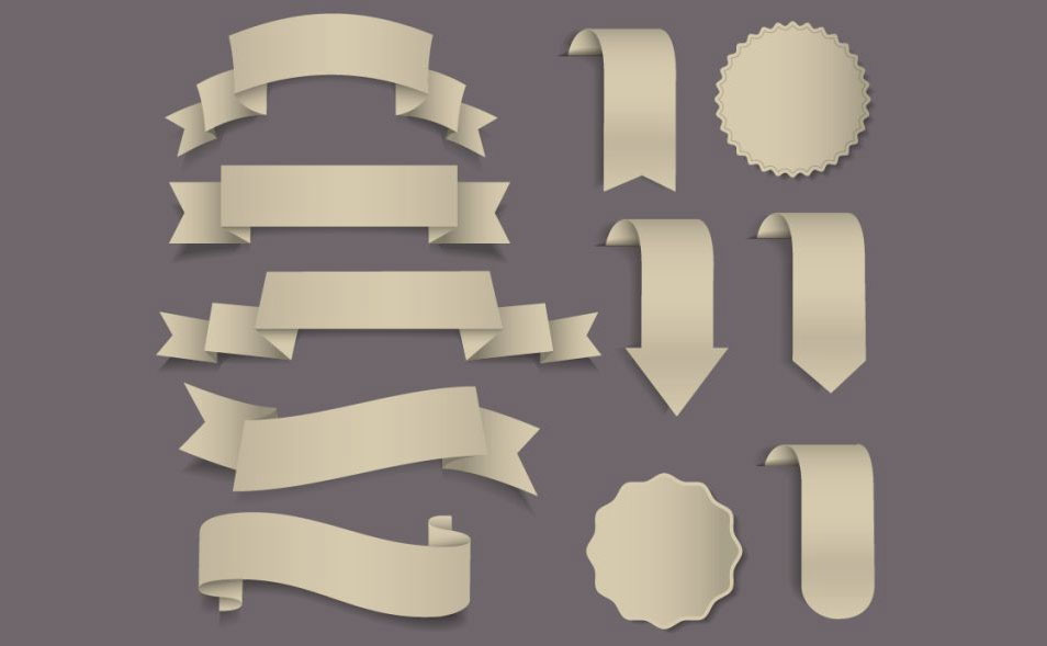 Free Vector Badge Shapes