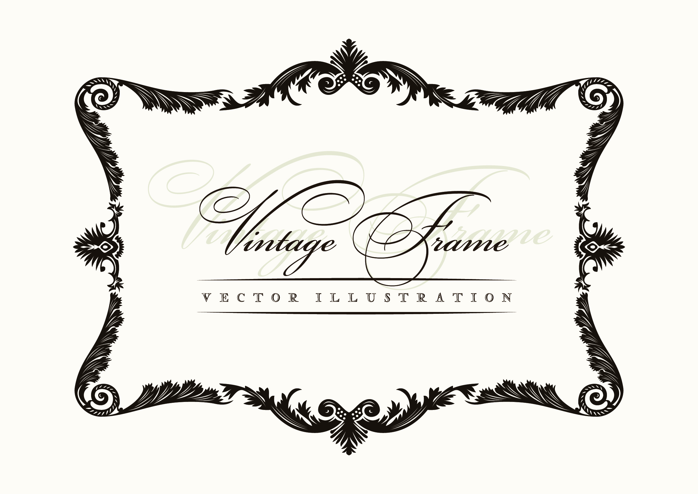 2268x1604 20 Decorative Borders Vector Free Images