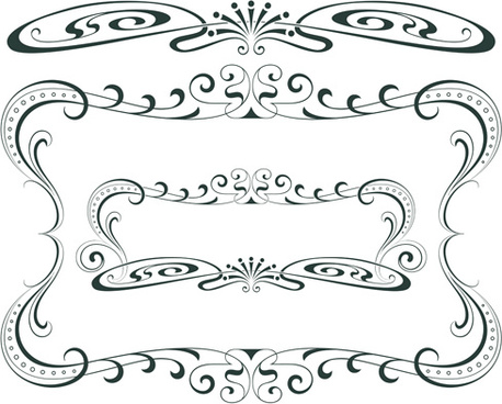 458x368 Free Vector Borders Corners Frames Free Vector Download (8,951