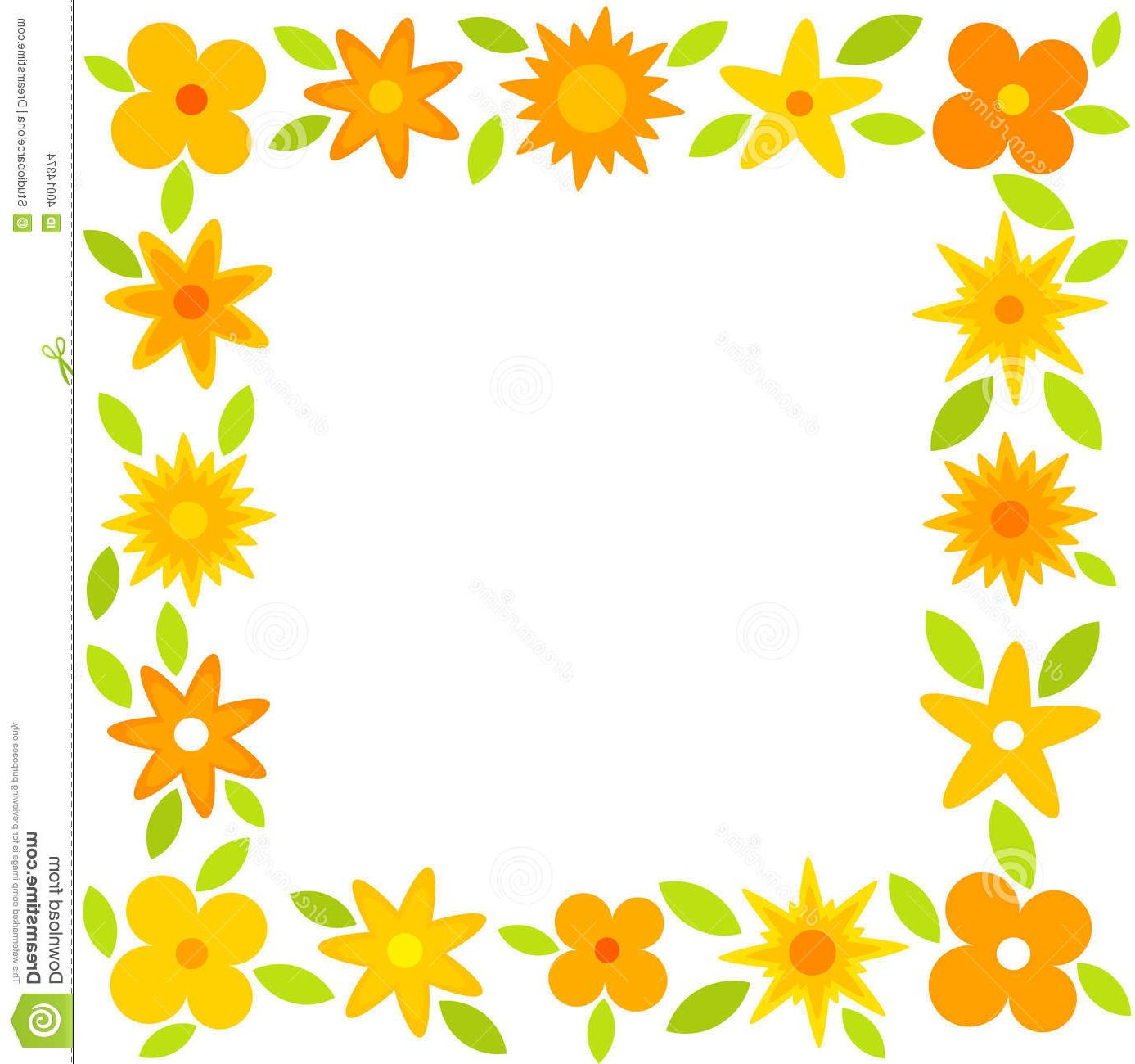 1387x1300 Best Hd Floral Frames And Borders Vector File Free Free Vector