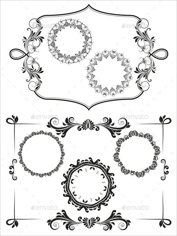 Free Vector Borders For Illustrator