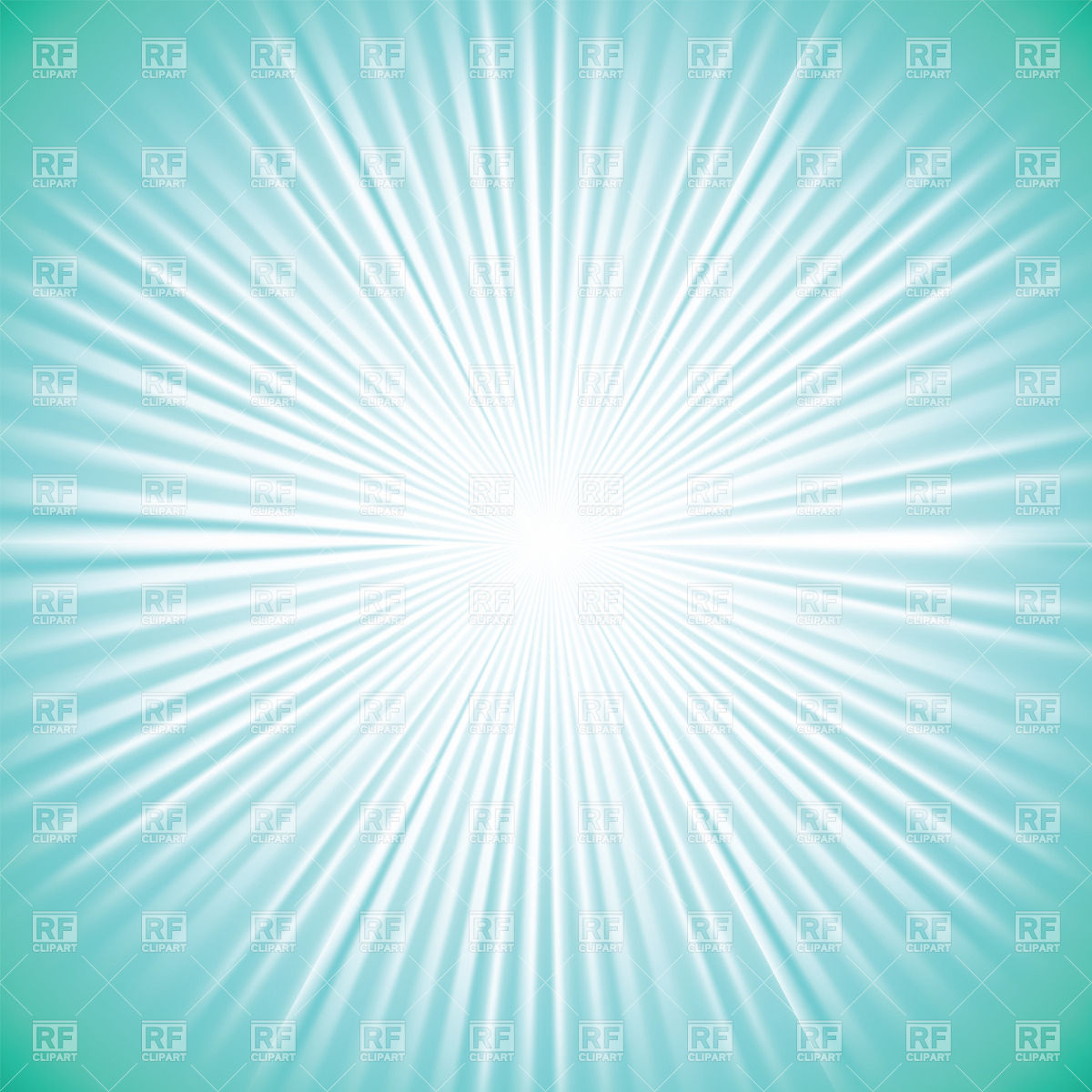1200x1200 Cyan Background With White Burst Vector Image Vector Artwork Of