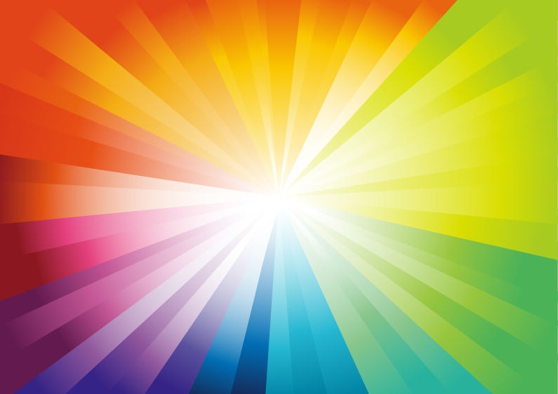 795x562 Vector Abstract Colorful Design With A Burst Free Vector Eps10