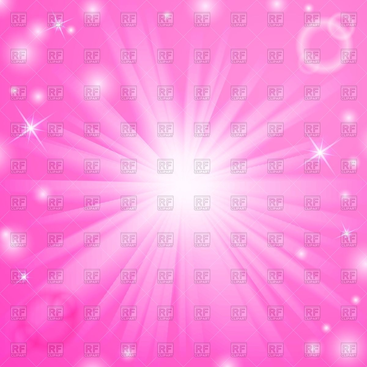 1200x1200 White Burst With Sparkles And Rays On Pink Background Vector Image