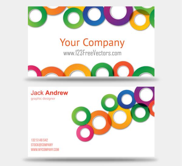 600x550 Business Card Template Vectors Download Free Vector Art