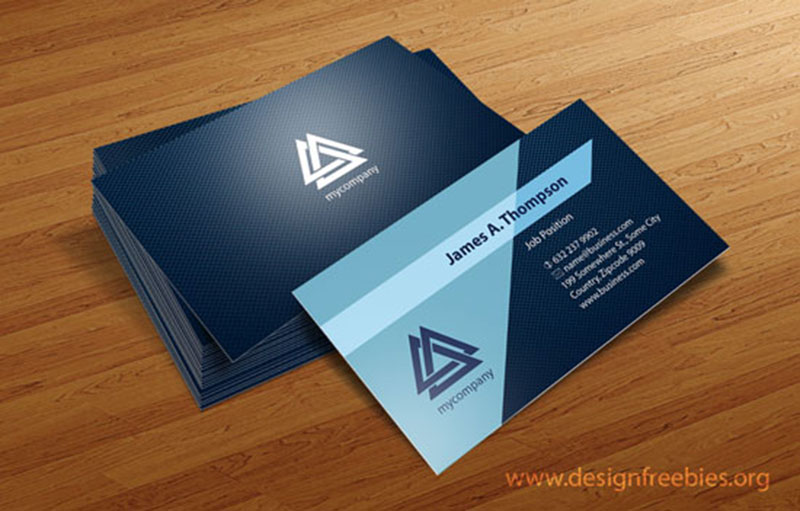800x511 Free Vector Business Card Design Templates