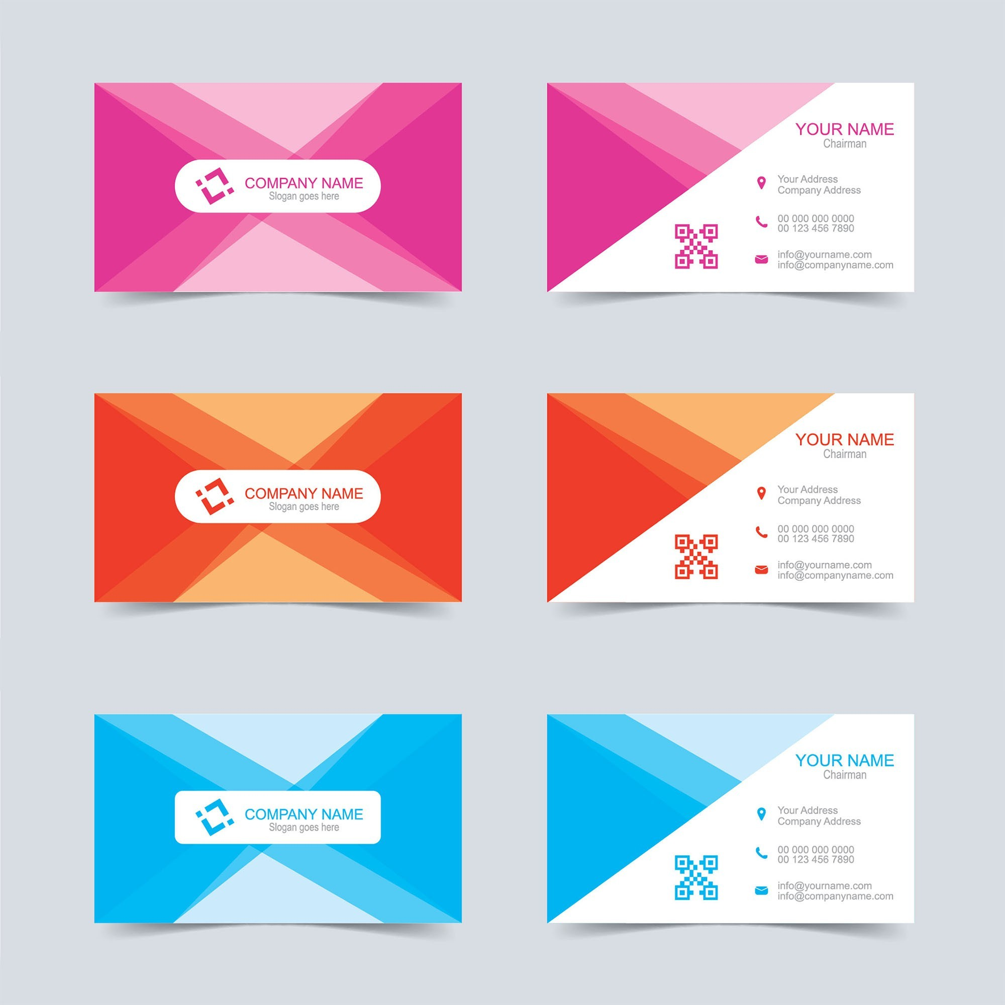 2000x2000 Free Vector Business Card Templates Valid Business Card And Flyer
